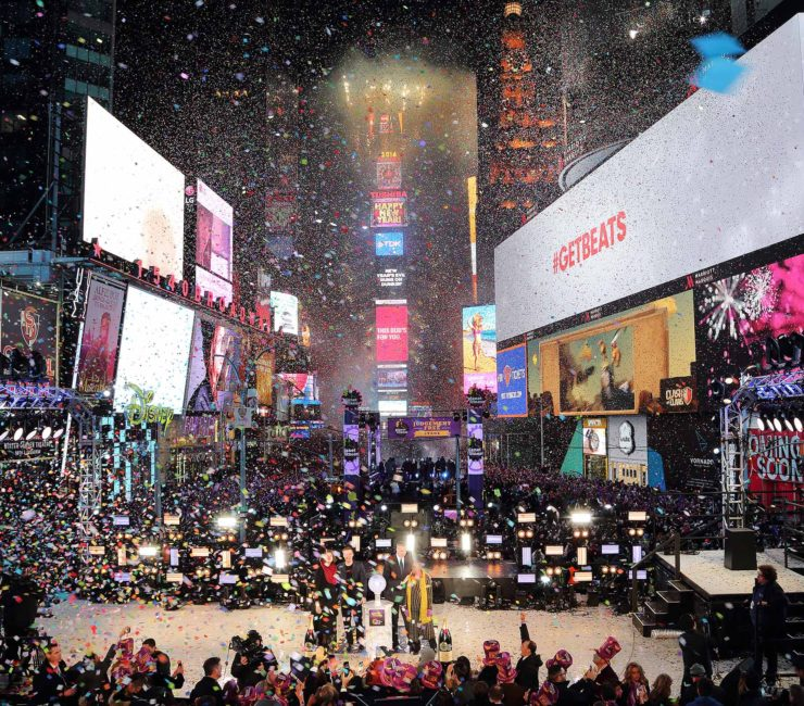 New Year's Eve in NYC 2016
