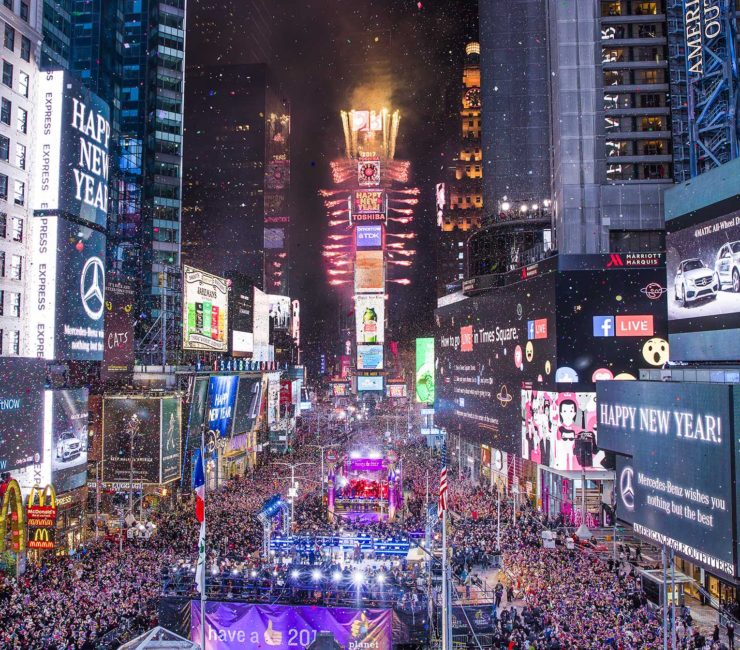 New Year's Eve in NYC 2017