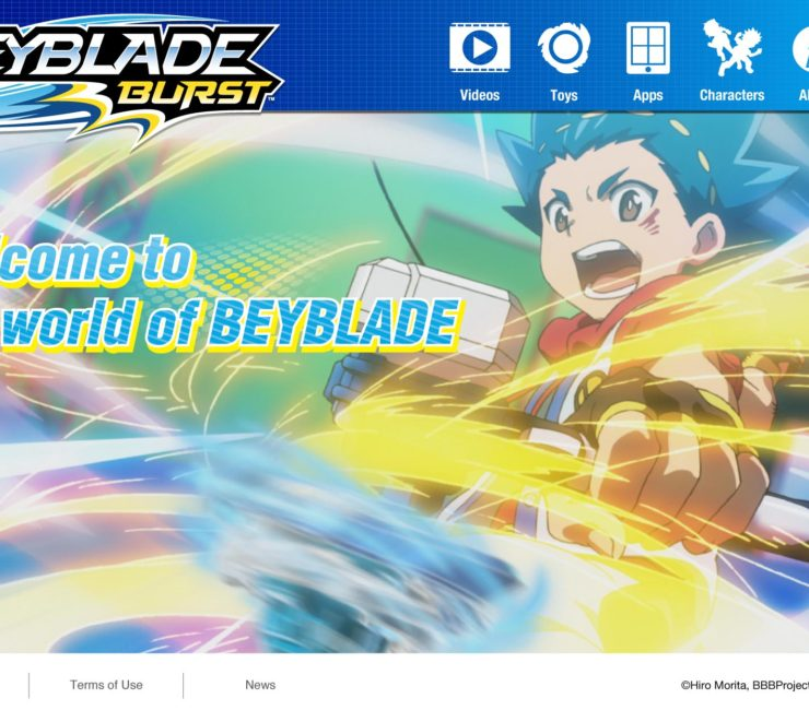 The Official BEYBLADE BURST Website