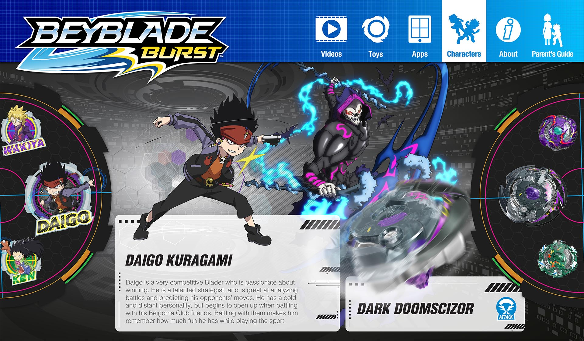 The Official BEYBLADE BURST Website – WORLDER, Inc.